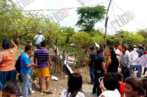 Cae dron de la Policía Federal en Chiapa de Corzo