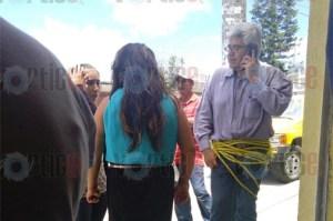 Amarran a dos trabajadores de la SEF; prometieron plazas