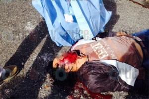 Motorista murió aplastado por dos vehículos en San Cristóbal