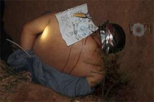 Ejecutan a presunto ladrón de ganado; los asesinos dejan mensaje