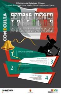 Semana México Tricolor inicia este 7 de septiembre