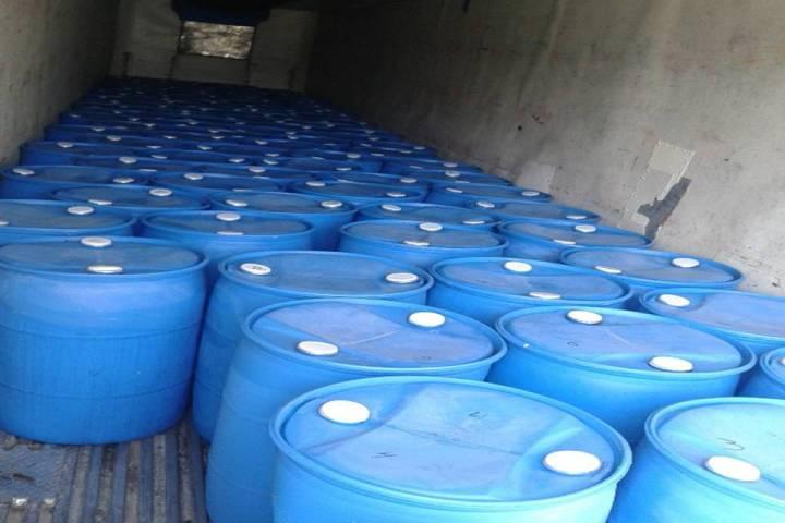 Aseguran 19 mil litros de compuesto químico en Chiapas