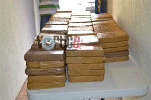 Aseguran 70 paquetes de cocaína en la frontera sur de Chiapas