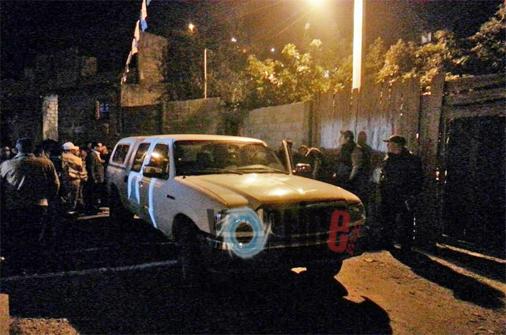 Asesinato a sangre fría en San Cristóbal