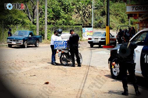 Aseguran centenar de motocicletas en Chiapas