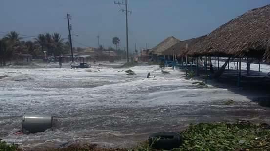 Alerta SMN por mar de fondo desde Sinaloa hasta Chiapas