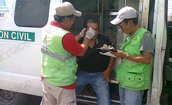 Despachador de gasolina golpea a cliente por presunto desabasto