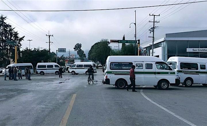 Podrían transportistas unirse a protestas; exigen solución a conflictos en Chiapas