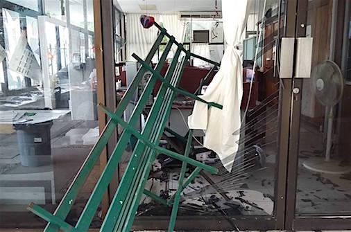 Sospechoso ataque a la Secretaría de Educación; la Policía apareció cinco horas después
