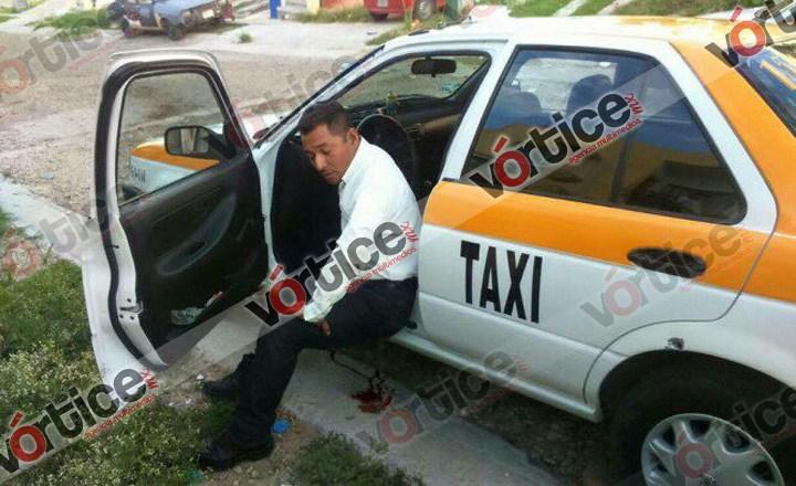 Investigan agresión a taxista en Real del Bosque