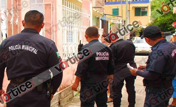 Policías de Fuerza Ciudadana dejan ir a cantoneros con más de $200 mil