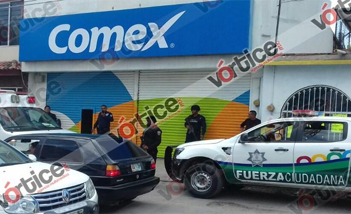 Al alza los robos en Tuxtla; ahora le tocó a Comex