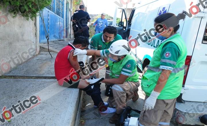 """Apuñalan a joven; grupo especial """"Tuxtla Seguro"""" llega tarde"""