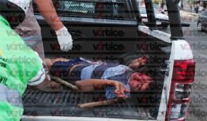 Se desata enfrentamiento a balazos, machetazos y palazos en Las Granjas; hay dos heridos
