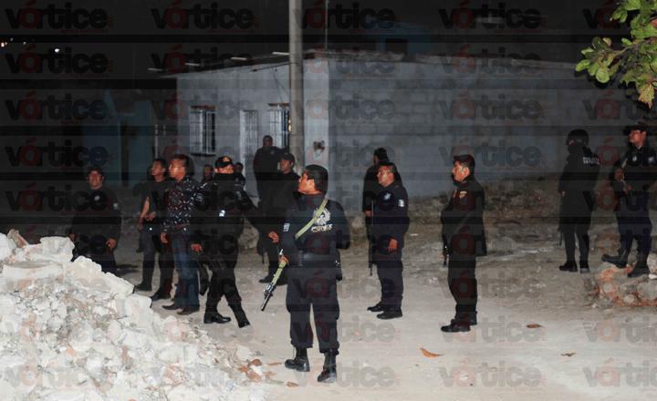 Se desata balacera en Las Granjas; policías de la SSyPC dejan huir a los agresores