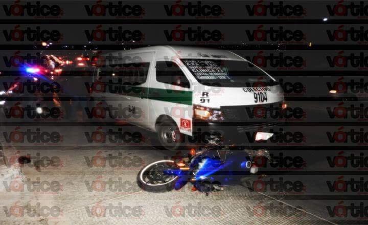 Motorista se debate entre la vida y la muerte tras accidente