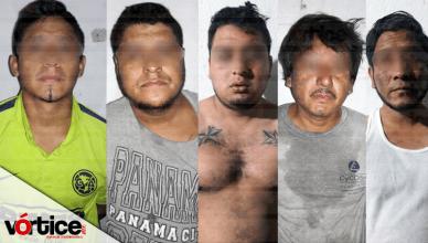 Policía detiene a seis personas