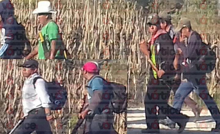 Grupo armado de la CIOAC causa pánico en Las Margaritas