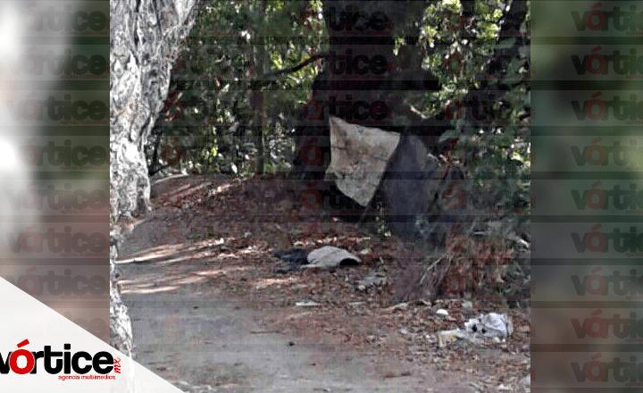 Hallan cadáver en camino de terracería sobre la Rivera Cerro Hueco
