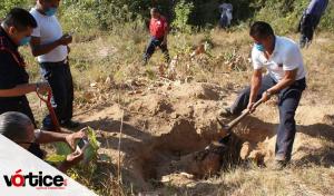 Identifican a chiapanecos entre los cadáveres hallados en las fosas clandestinas de Tetelcingo