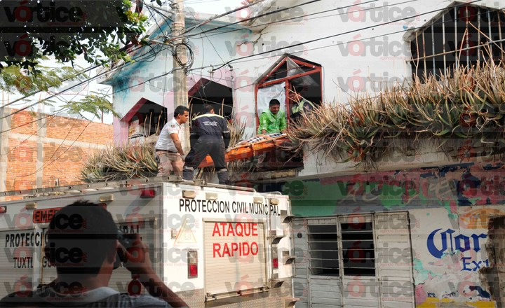 Fallece dama en la segunda planta de un domicilio en el barrio Hidalgo