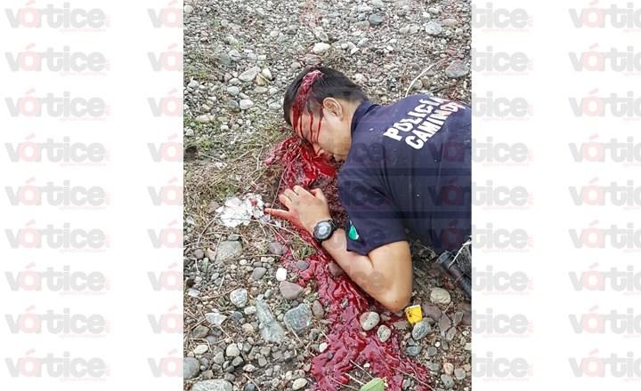 Investigan autoridades homicidio de policía en Frontera Comalapa