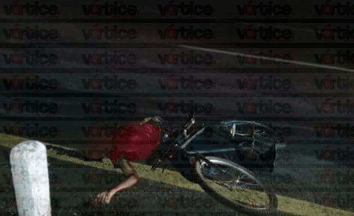 Atropellan a ciclista en Huixtla y muere minutos después en el hospital