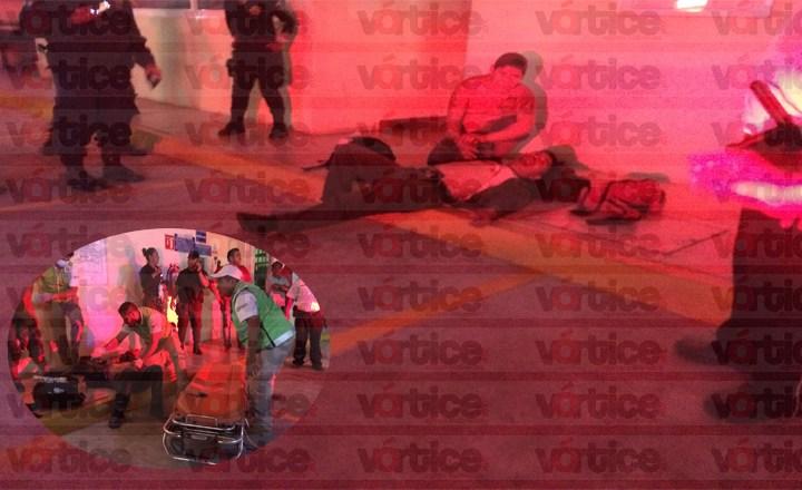 Balean a despachador de gasolina en Tuxtla; está grave