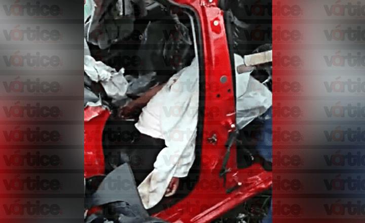Muere conductor tras carreterazo en Teopisca; hay tres heridos más