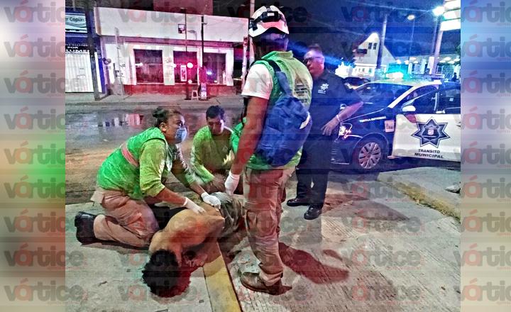 Dejan malherido a joven en Tuxtla; fue golpeado por sus amigos