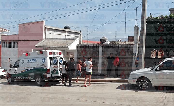 Muere policía estatal acreditable tras caer de la segunda planta de su vivienda