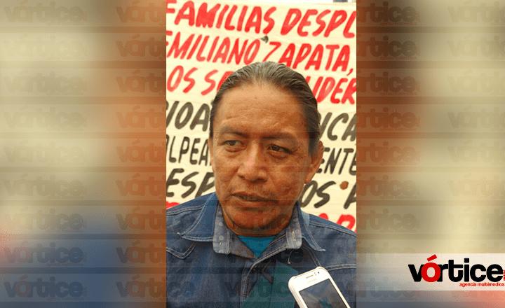 Acribillan a líder regional del MOCRI-EZ, Andrés Jiménez Pablo; recibió 10 balazos