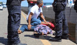Fallece joven en el hospital tras sufrir un accidente de motocicleta en Tuxtla