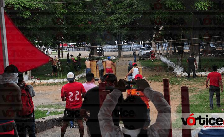 Liberan a siete policías federales retenidos en Chiapa de Corzo
