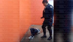 Presunto ladrón amarrado por vecinos queda libre a falta de denuncia