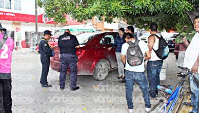 Conductora atropella a dos jóvenes en bicicleta en Tuxtla