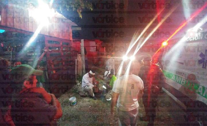 Menores golpean a una persona de la tercera edad y lo dejan malherida, en Tuxtla
