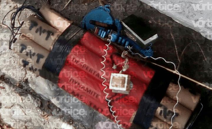Encuentran artefacto explosivo en el canal del río Sabinal de Tuxtla
