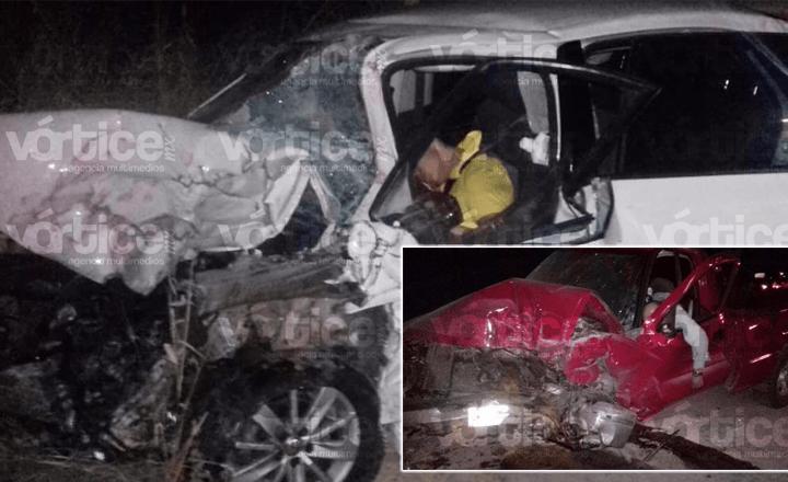 Carreterazo en Villaflores deja dos muertos, entre ellos un menor
