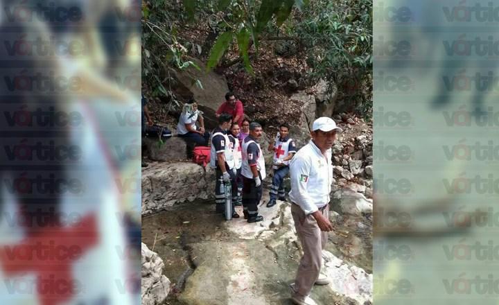 Joven muere en el Chorreadero; minutos antes ingirió bebidas embriagantes