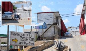 """""""Gotean"""" a huésped del Motel Rapid-Inn y se llevan sus pertenencias"""