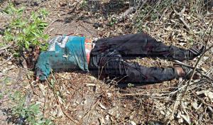 Hallan cadáver destrozado y putrefacto en un rancho de Arriaga