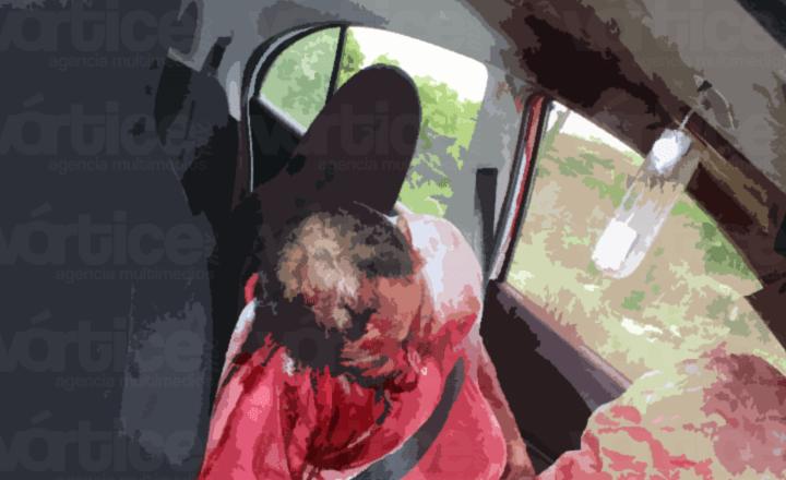 Ejecutan de dos disparos en la cabeza a taxista en camino a Coita