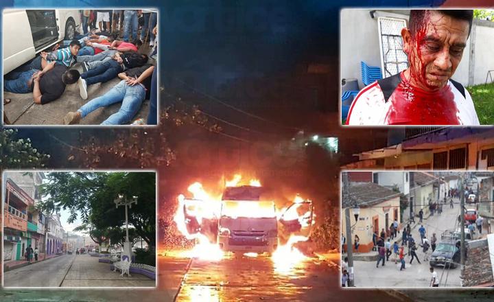 Continúa la violencia en Chiapas tras jornada electoral