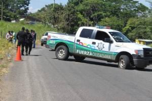 Balacera entre policías ministeriales y estatales por presunta disputa de cargamento