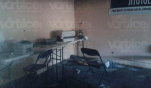 Queman urnas en Jitotol para desaparecer evidencias de presunto fraude