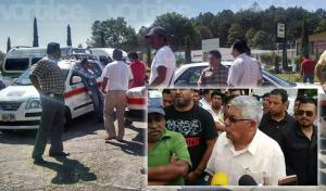 """Se unen taxistas de San Cristóbal y lanzan advertencias a los """"motonetos"""""""