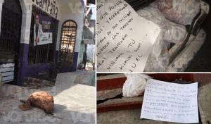 Usan cabezas de cerdo para intimidar durante las elecciones en Chiapas