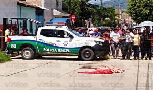 ¡A balazos! Asesinan a comerciante en Villaflores