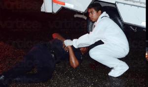 Atropellan a policía municipal cuando resguardaba un accidente